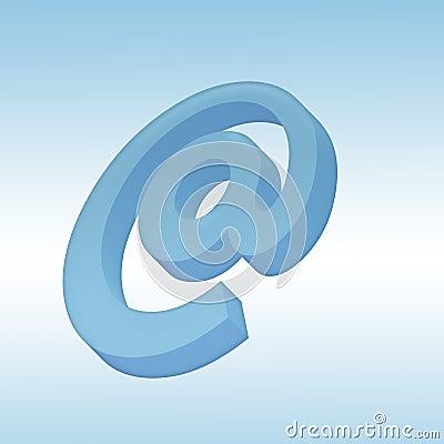 3d mail symbol