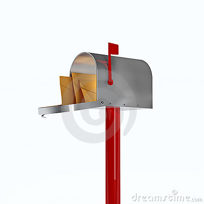 Free 3d Mailbox Stock Photography - 7989322