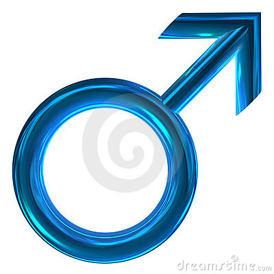 Free 3D Male Symbol Stock Image - 6478321