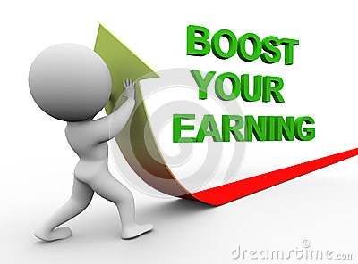 3d man boost you earning