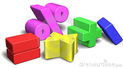 3d math symbols or signs
