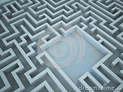 3D maze