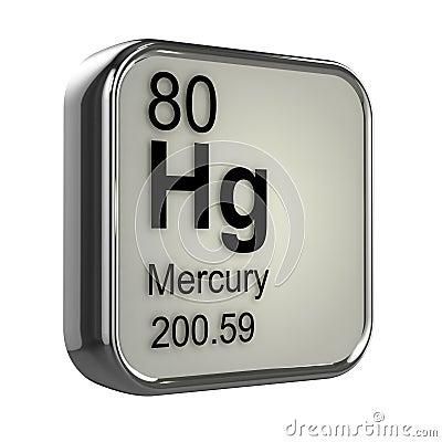 Free 3d Mercury Element Stock Photo - 39137470