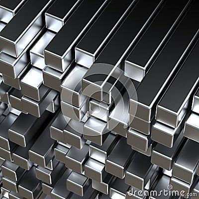 Free 3d Metal Bars Stock Image - 11625891