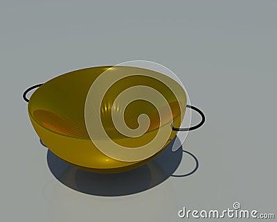 3d Metal Bowl