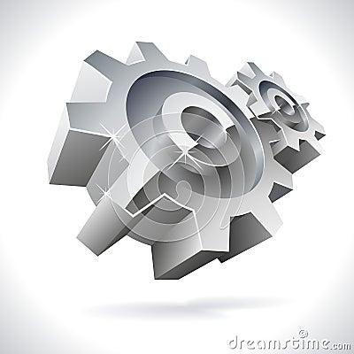3D metal gears