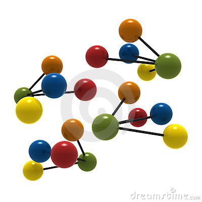 Free 3d Molecule Stock Photos - 3151653