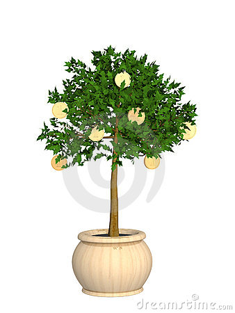 3d monetary tree