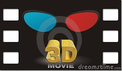 3D movie poster