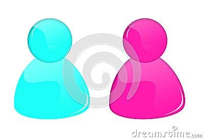 3D msn buttons