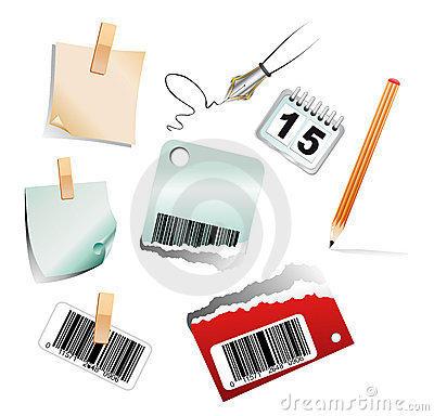 3D Office Icon set
