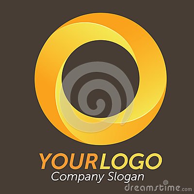 Free 3D Orange Logo Stock Photo - 29106220