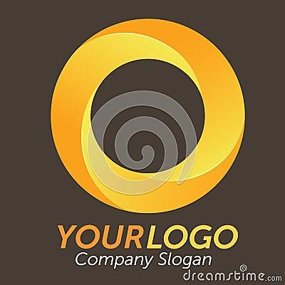 3D Orange Logo