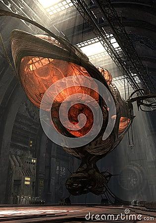 3D organic airship