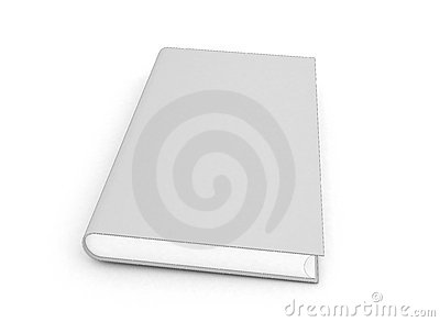 3d outline book