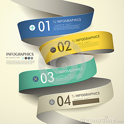 Free 3d Paper Abstract Flow Chart Infographics Royalty Free Stock Image - 36384816