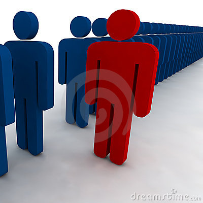 Free 3d People Royalty Free Stock Photo - 4846355