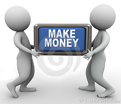 3d people and make money button