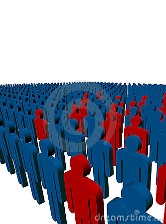 3d people/workers - outsiders