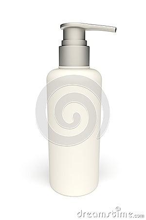 3d plastic botle
