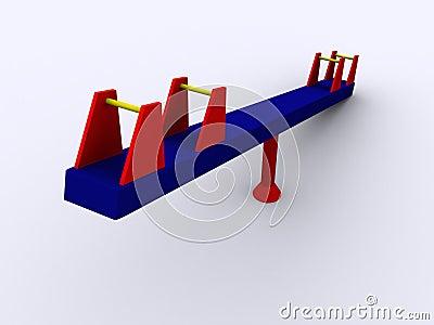 3d PlaySeesaw