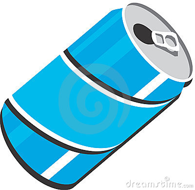3D Pop Soda can