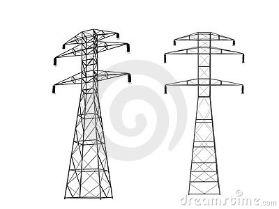 3D power towers