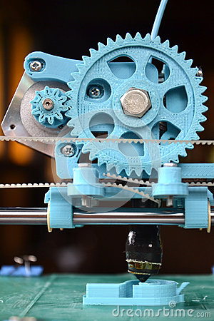 Free 3d Printing Royalty Free Stock Images - 27707049