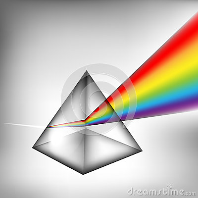 Free 3d Prism With Light Royalty Free Stock Images - 35867039