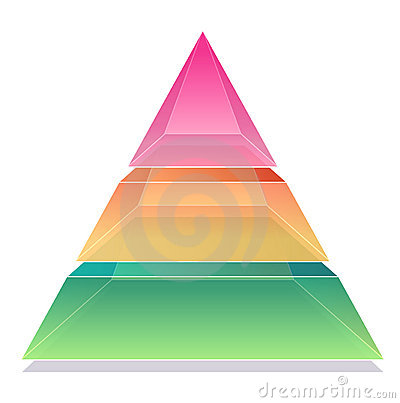 Free 3D Pyramid Stock Image - 9590471