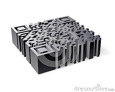 3D QR Code