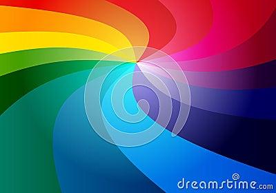 3D rainbow  background