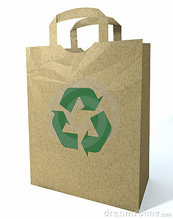 3d Recycled Shopping Bag
