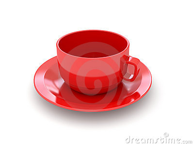 3d red cup