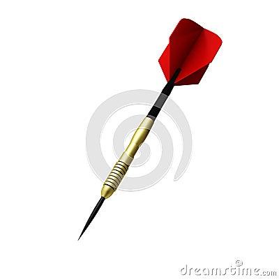 3d render of dart