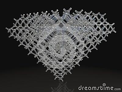 3d Render of Diamond