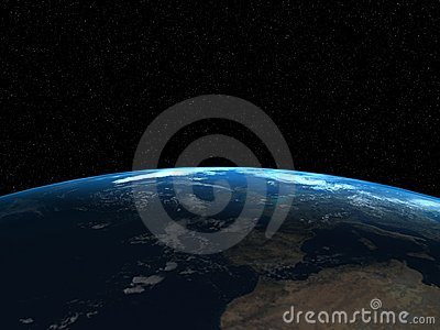 3d render of the Earth