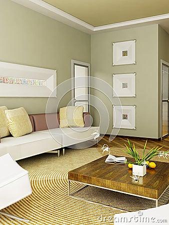 Free 3D Render Interior Stock Image - 1847131