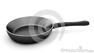 3d render of pan on white