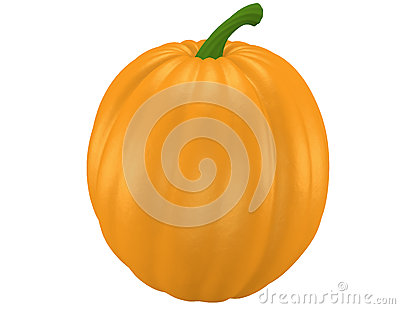 3d Render of a Pumpkin