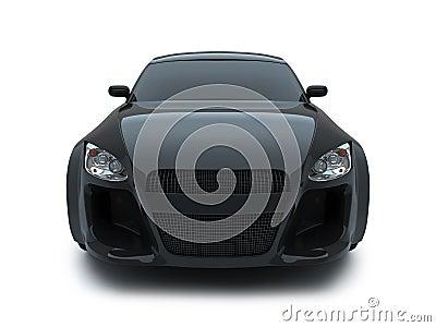 3d render sport car