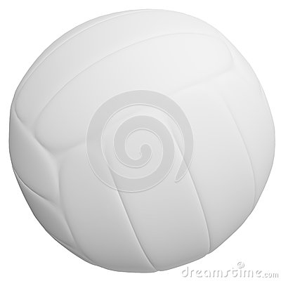 3d Render of a Volleyball