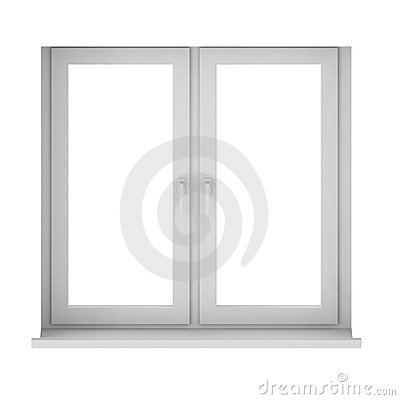 3d render of window