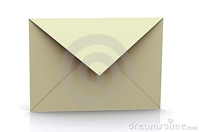 3d Rendered Envelope