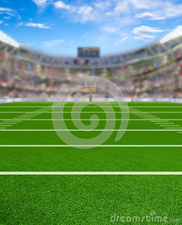 Free 3D Rendered Football Stadium With Copy Space Royalty Free Stock Photos - 91811578
