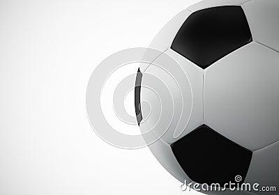 3d rendering of football