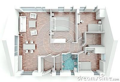 Apartment Plans Narrow Lot
