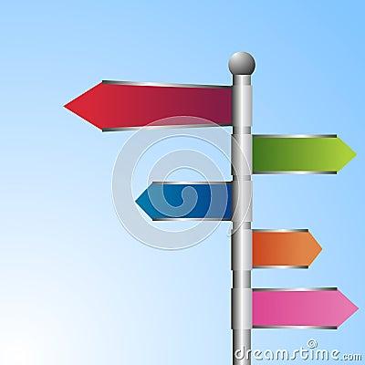3D road signs
