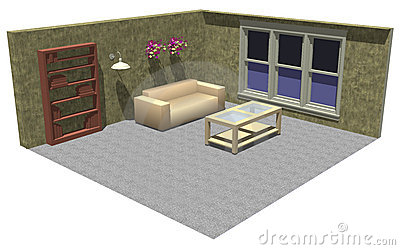 3D room furniture