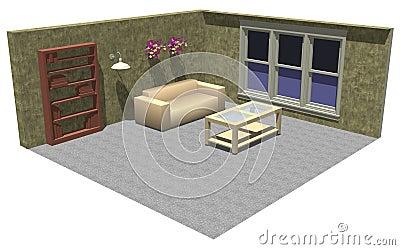 3D room furniture